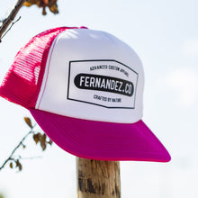 Load image into Gallery viewer, Fushia Flag Snapback