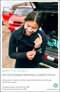 Write the World Competition Posters 2018-19