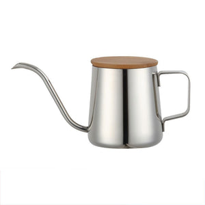 Barista Style: pour over kettle, bamboo lid