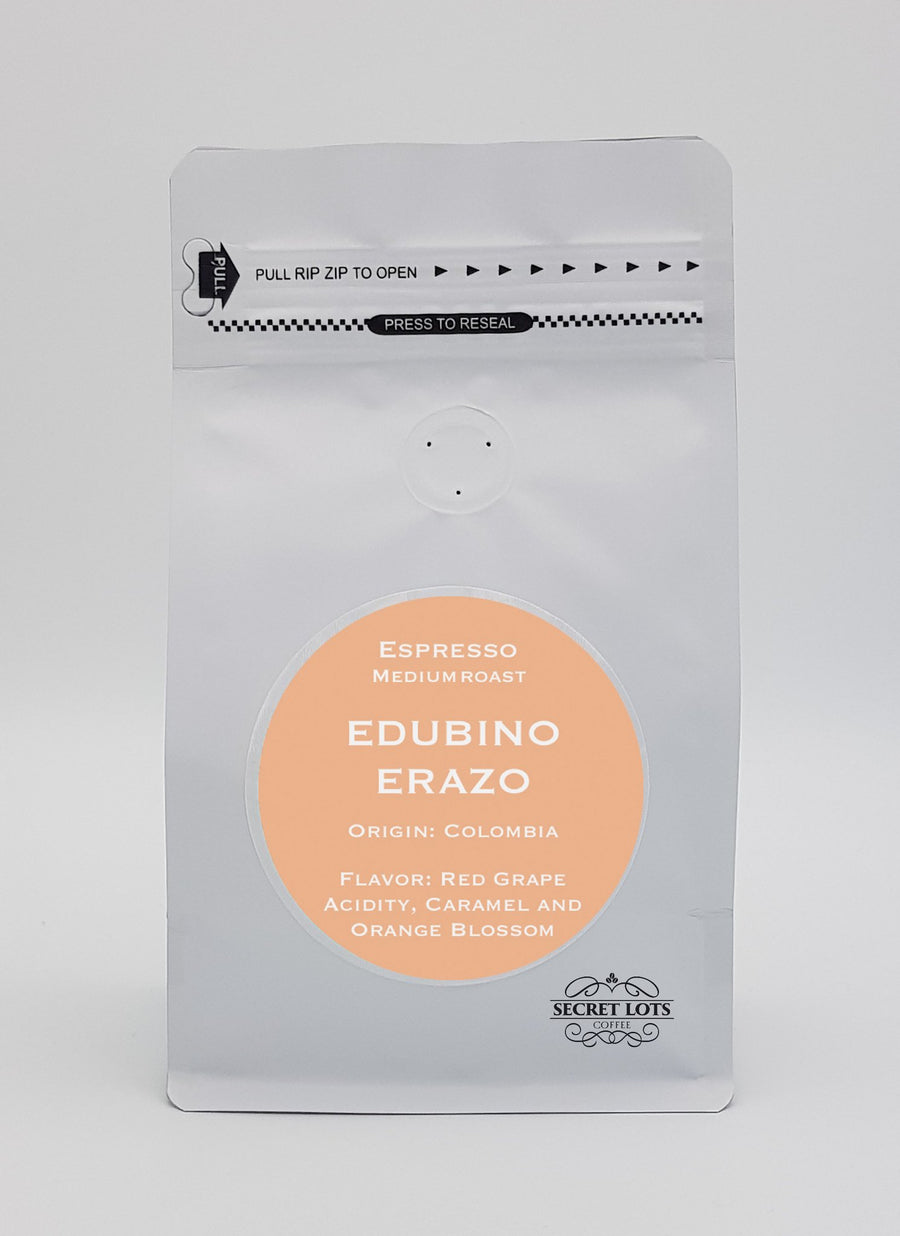 Edubino Erazu: Organic, single origin specialty coffee from Colombia