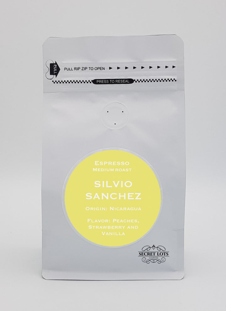 Silvio Sanchez - Single origin, specialty coffee from Nicaragua