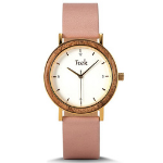 Victoria Collection | Pink & Gold Wooden Watch | Trek Watches