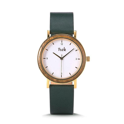 Victoria Women's Luxury Watch - Olive Green - Trek Watches