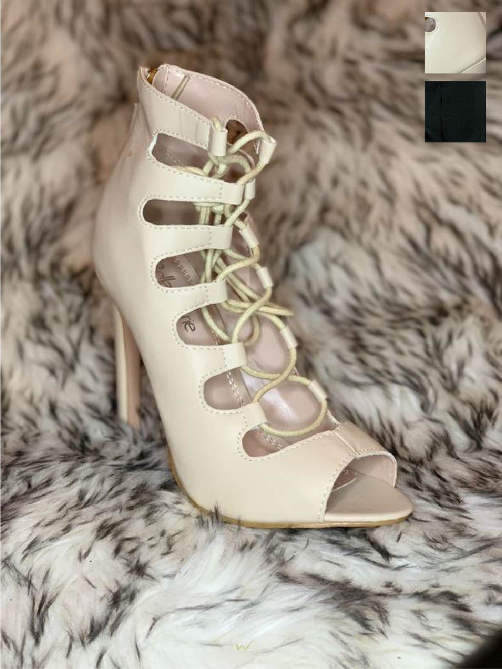 Behave Lace-up Heels
