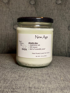 New Age Candle, 12oz