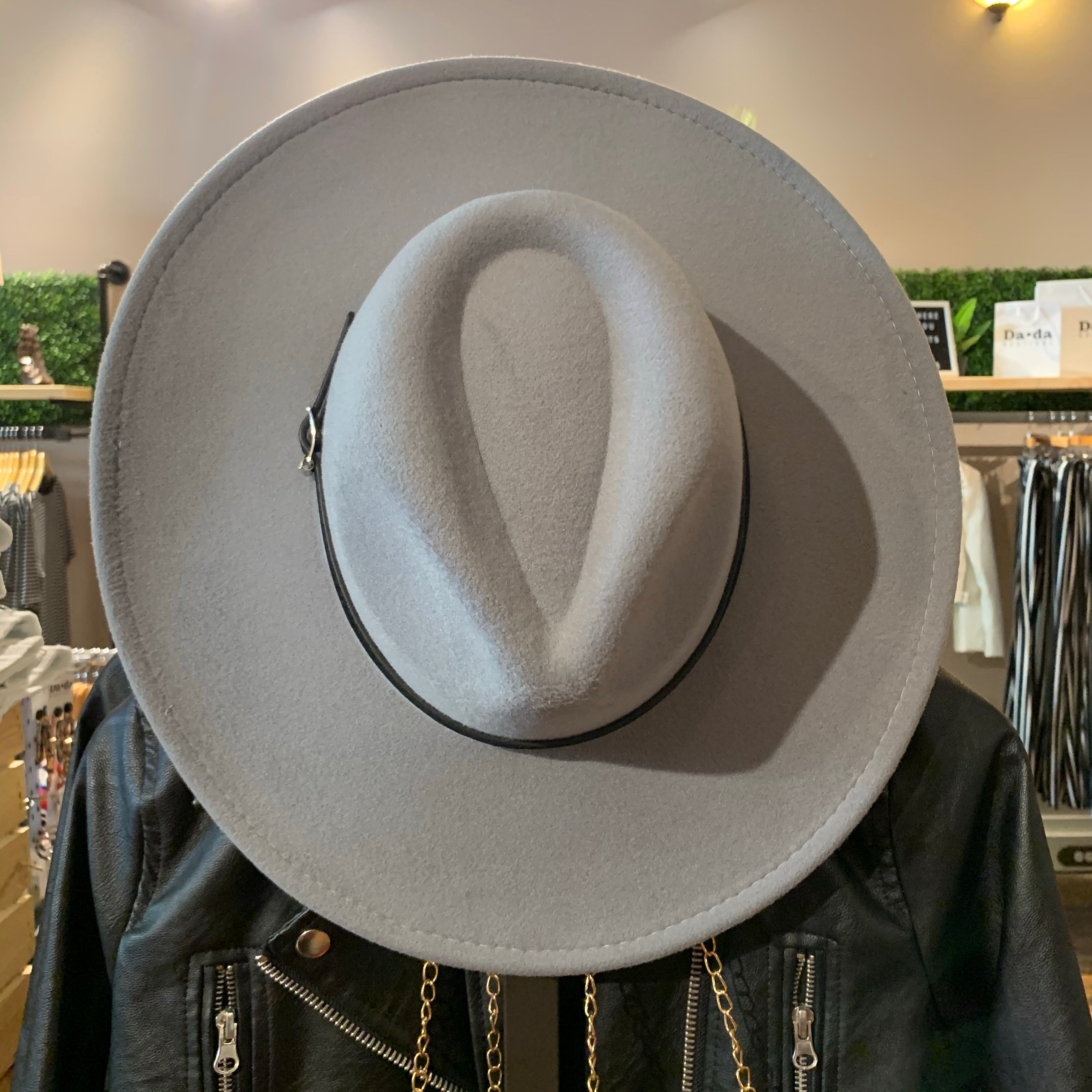 Avery Hat Grey/Black
