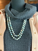 Beaded Amazonite Strand Necklace