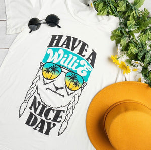 Willie Nice Day Tee