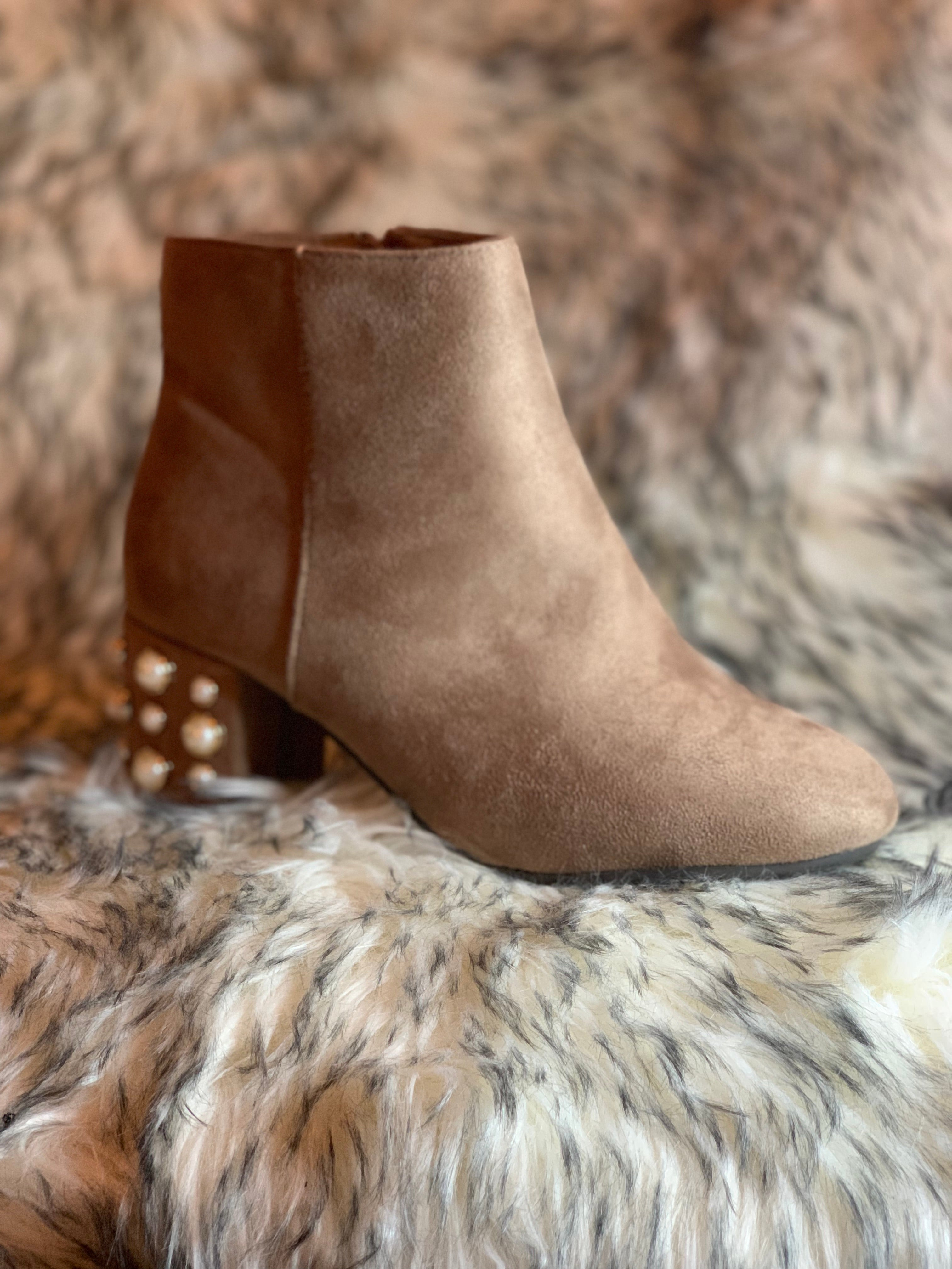 Jenner Pearled Booties