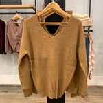 Sara Knotted Sweater