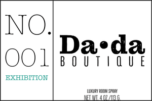 Da•da No. 001 Exhibition Room Spray