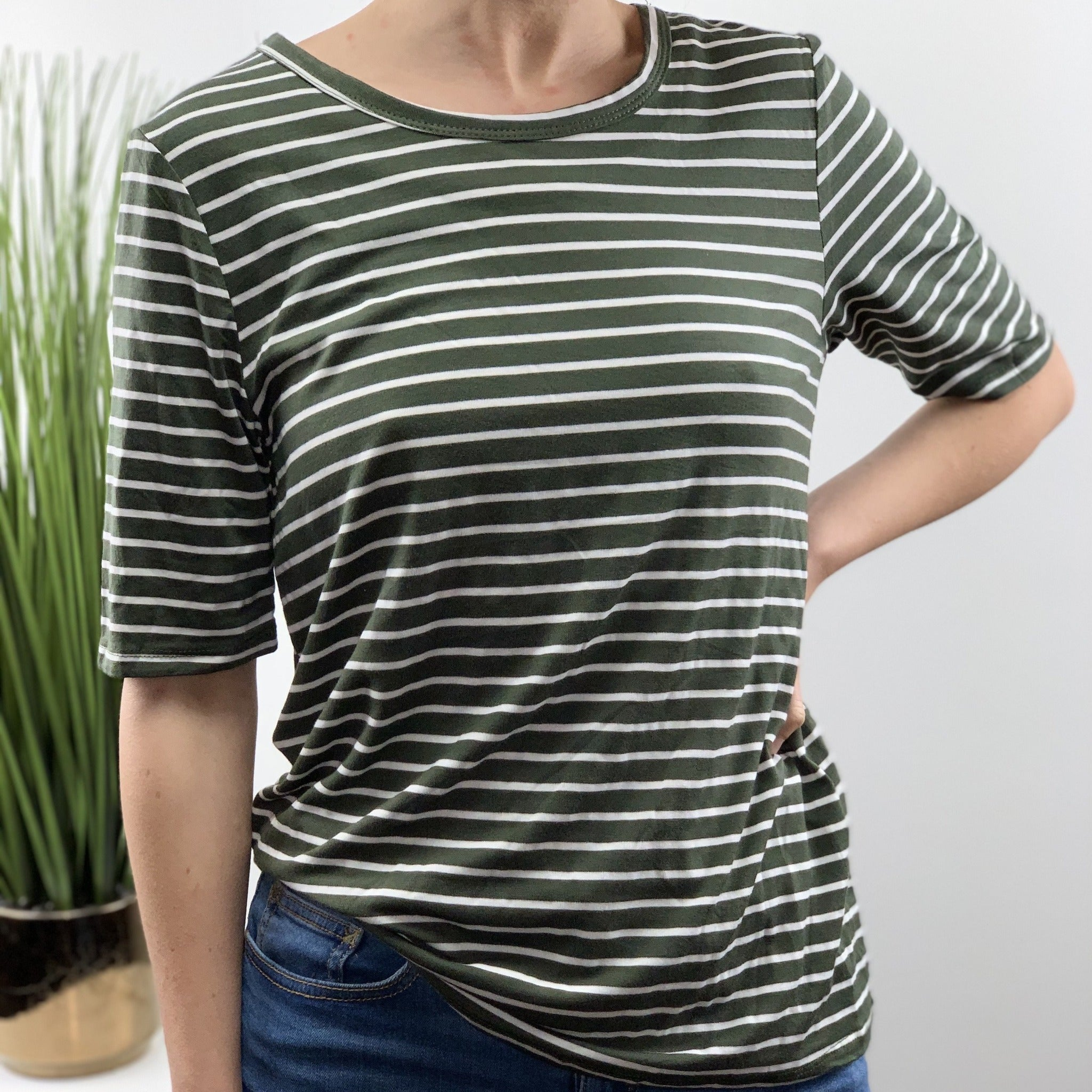 Tonya Striped Tee