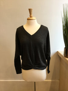 Nessa Top Charcoal