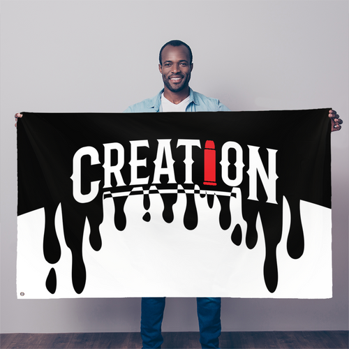Creation Flag - GOOD MAN Street Wear