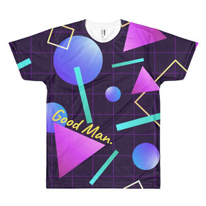 Good Man. 80's Vaporwave T-Shirt - GOOD MAN Street Wear