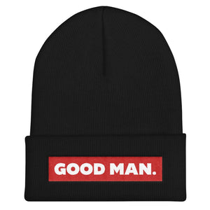 GOOD MAN. Beanie hat - Good Man