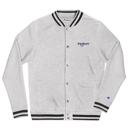 Equiturn Embroidered Champion Bomber Jacket - GOOD MAN Street Wear