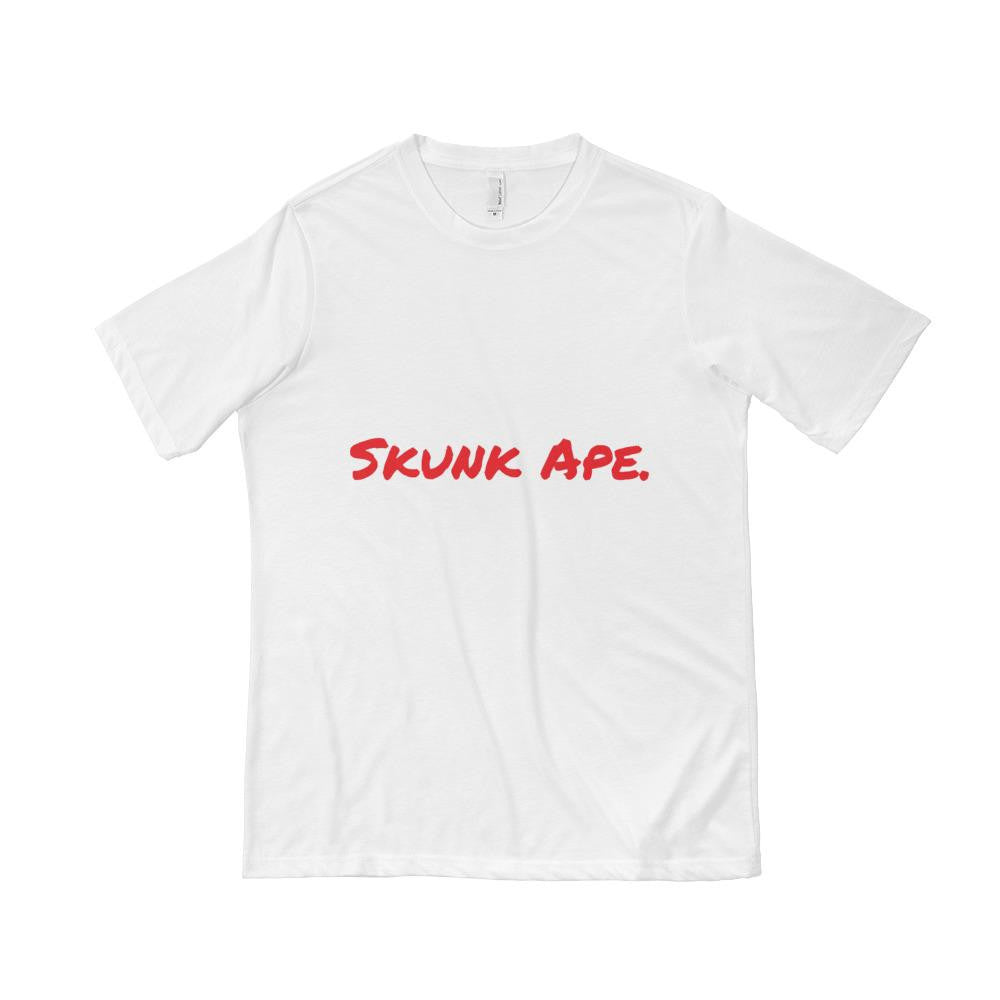 SKUNK APE. Short Sleeve T-shirt shirt - Good Man