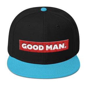 GOOD MAN. Snapback hat - Good Man