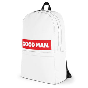 GOOD MAN. Backpack Home - Good Man