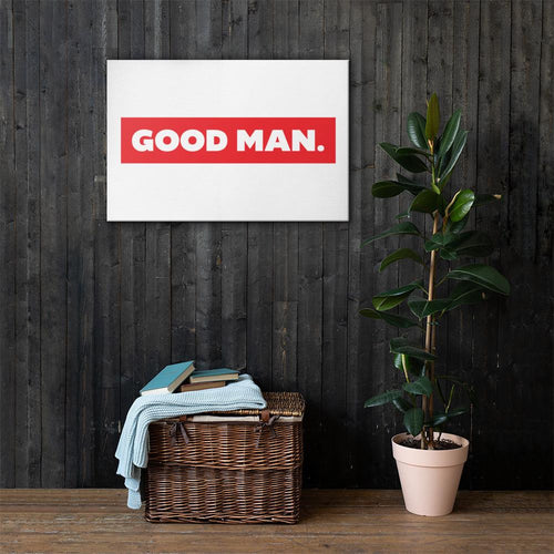 GOOD MAN. on canvas - GOOD MAN Street Wear