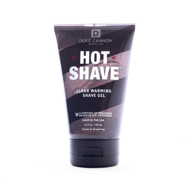 Hot Shave Clear Warming Shave Gel, 4.5 Fl. Oz. - Boyd's Madison Avenue