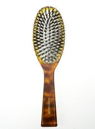Koh-I-Noor Jaspe Pneumatic Brush Boar Bristle Tufts and Nylon Pin