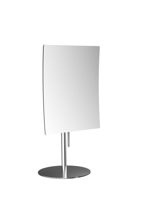 Frasco 3X Magnification Mirror on Stainless Steel Pedestal, 5 1/2 X 6 3/4 Inches - Boyd's Madison Avenue