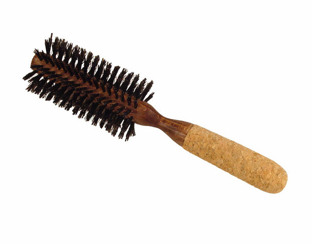 Boyd's round styling brush with cork handle, 2 1/2""