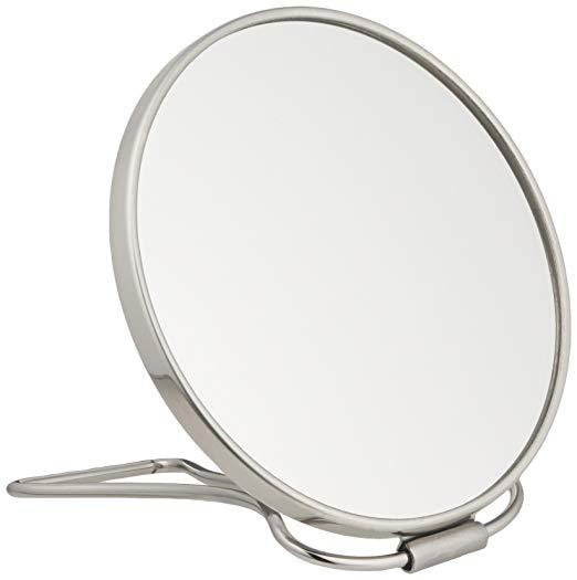 Frasco Double Sided Travel Magnifying Mirror, 7X Magnification , 5 1/4 Inch Diameter  (94880554)
