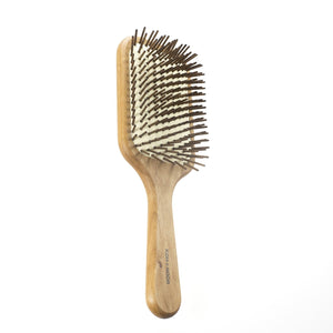 "Koh-I-Noor Legno Pneumatic Paddle Brush with Hornbeam Wood Pins, 9.5"" X 3.1""  (K668) - Boyd's Madison Avenue"