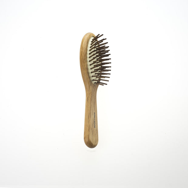 Koh-I-Noor Legno Pneumatic Oval Brush with Hornbeam Wood Pins, Large (K683) - Boyd's Madison Avenue