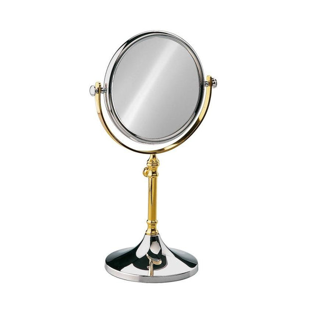 Free Standing Extensible Round Double Face Mirror - Boyd's Madison Avenue
