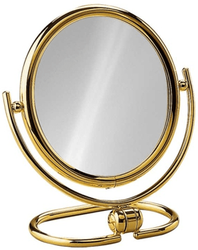 "Mini Travel Mirror, 5.7"" Diameter - Boyd's Madison Avenue"