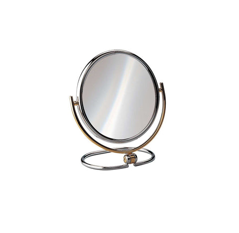 "Large Sized Magnifying Travel Mirror, 7.2"" Diameter - Boyd's Madison Avenue"