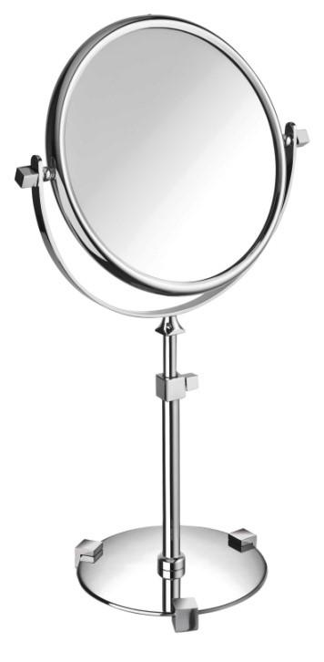 Free Standing, Extensible Round Double Face Mirror - Boyd's Madison Avenue