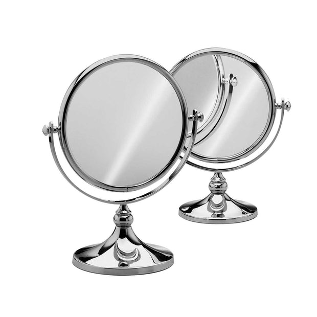 Free Standing Mini Round Double Face Mirror - Boyd's Madison Avenue