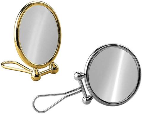 "Magnifying Travel Mirror, 5.7"" Diameter - Boyd's Madison Avenue"