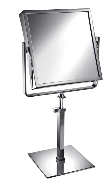 Free Standing Extensible Square Double Face Mirror - Boyd's Madison Avenue