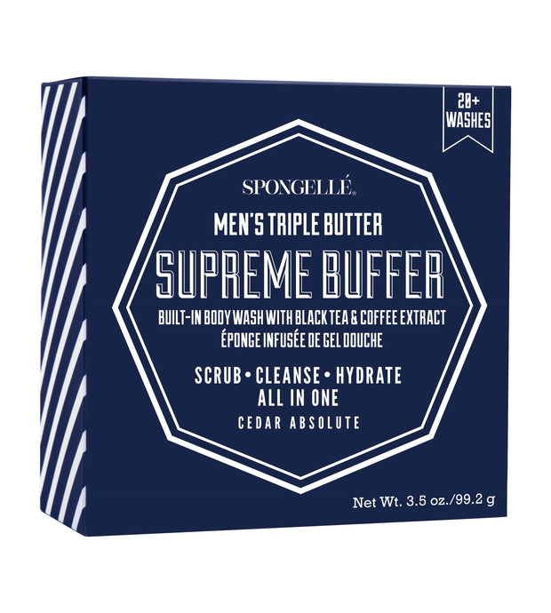 Spongelle Men's Supreme Buffer Sponge & Body Wash