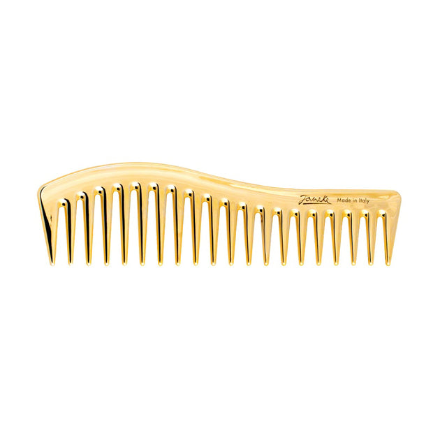 Janeke Gold Large Wide Tooth Comb AU805