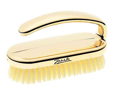 Janeke Nail Brush, Available In Gold or Chromium  CRSP38