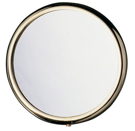 Arpin nickel handbag mirror