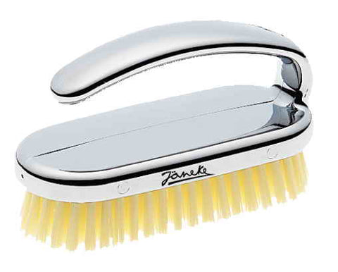 Janeke Nail Brush, Available In Gold or Chromium  CRSP38 - Boyd's Madison Avenue