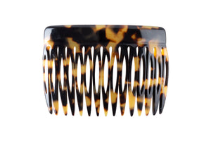 Charles Wahba mottled tortoise hair accessory comb