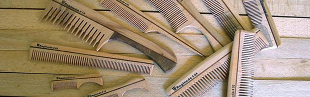 Regincos Small Beach Wood Eco-Friendly Mustache & Beard Comb - Boyd's Madison Avenue
