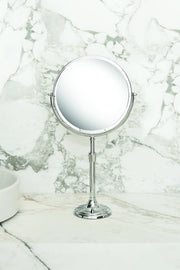 Brot IMAGE 24 Reversible 9 1/2 Inch Diameter Mirror with Adjustable Height