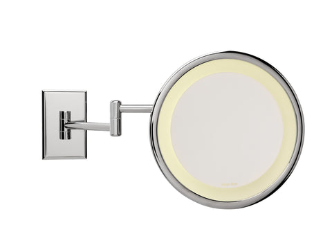 "Brot-INFINI C 24 Wall Mounted Circular Light Mirror Diameter 24cm (9 1/2"")"