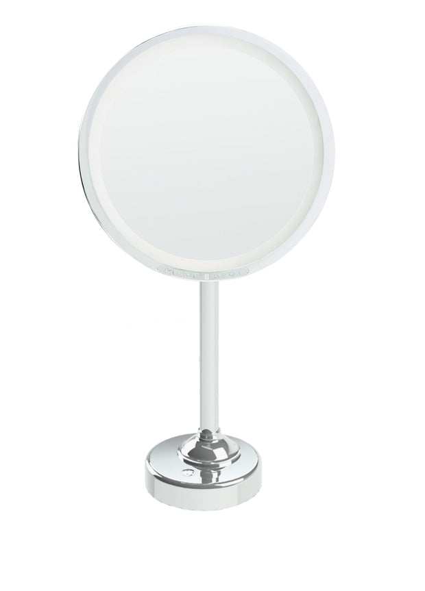 "Brot INTEMPOREL Lighted Magnifying Vanity Mirror, 9 1/2"" in Diameter"