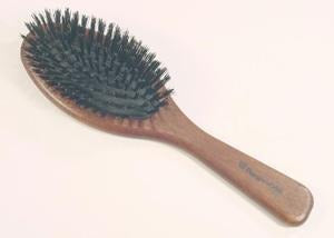 Regincos Black Mixed Bristle Brush For Thick Keratin Treated Hair - Boyd's Madison Avenue